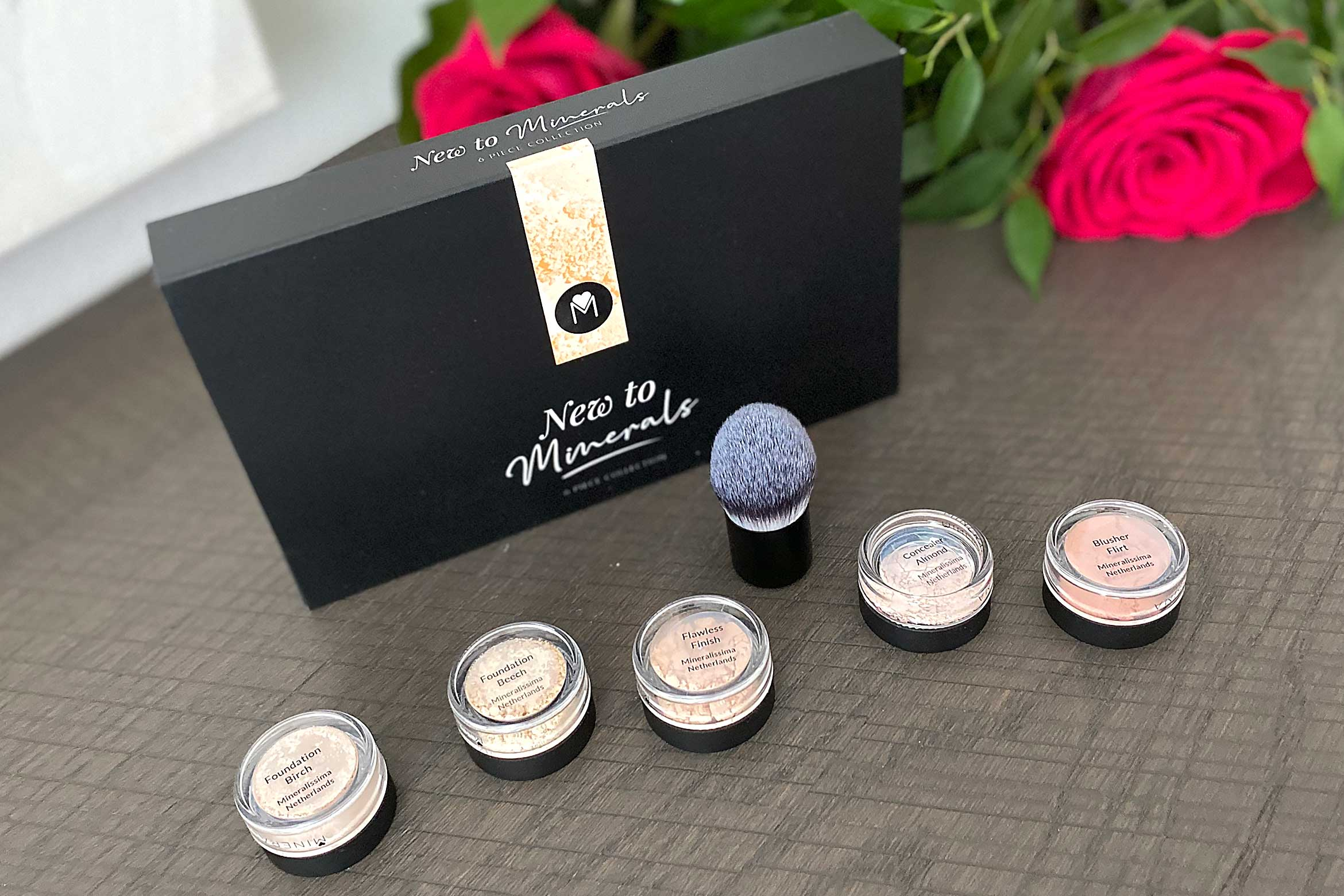 mineralissima new to minerals luxe make-up test pakket review