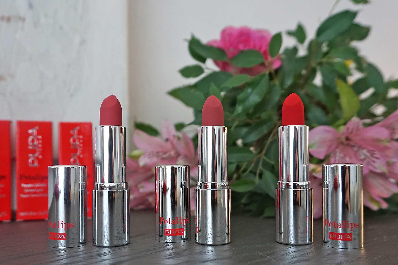 pupa petalips soft matt lipstick review