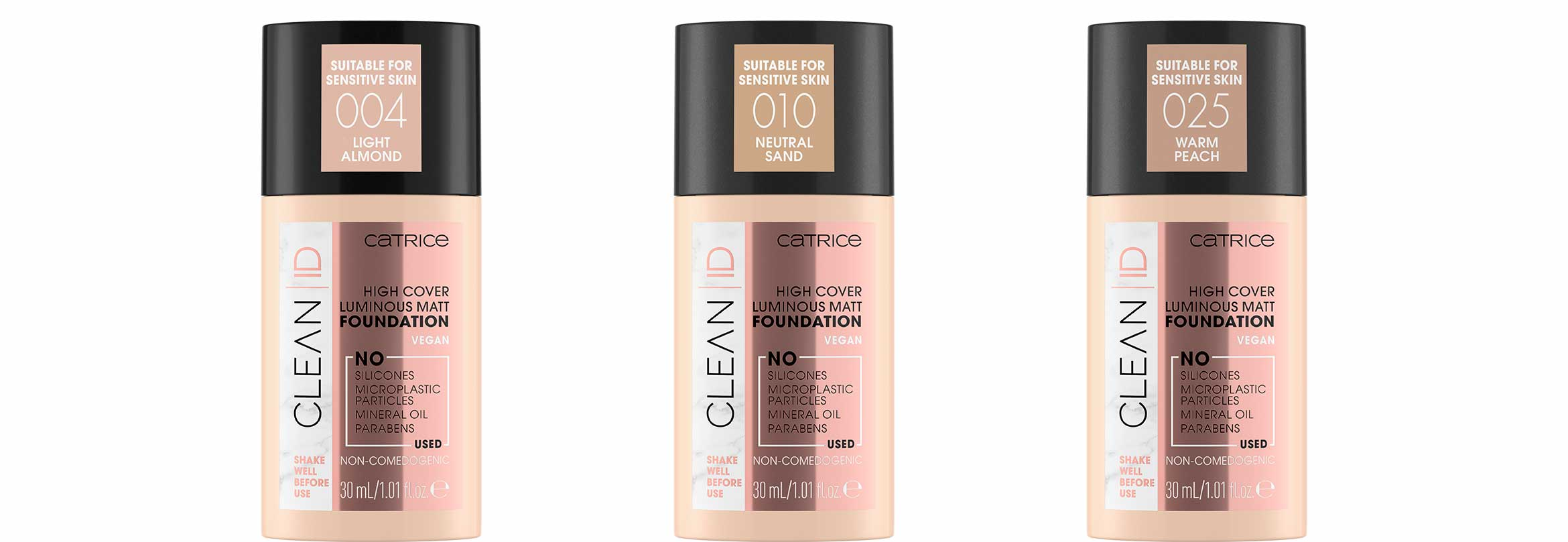 catrice clean id high cover luminous matt foundation