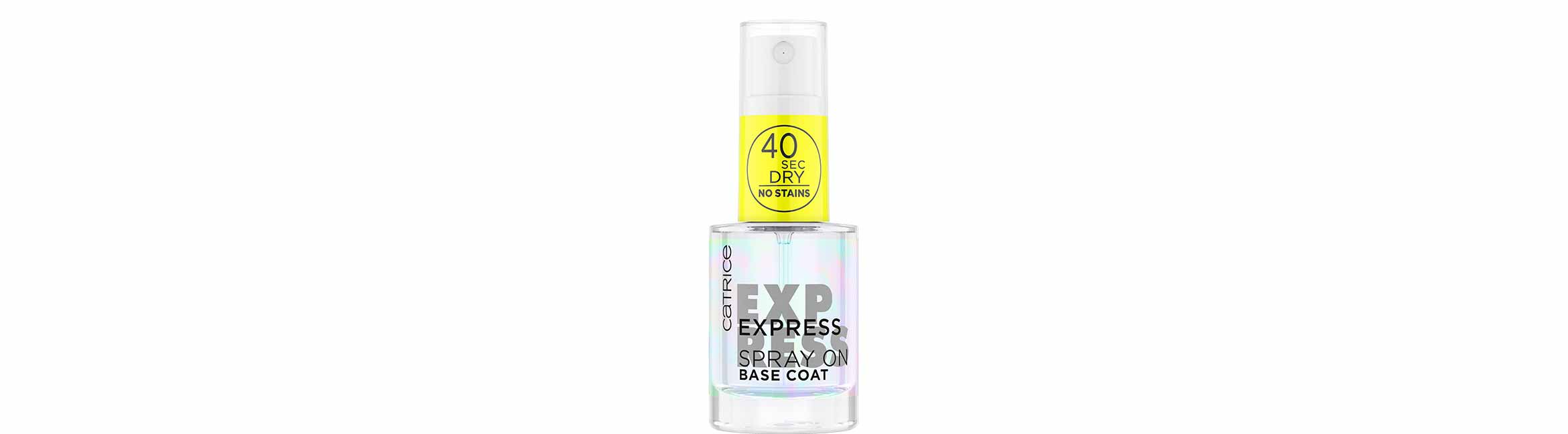 catrice express spray on base coat