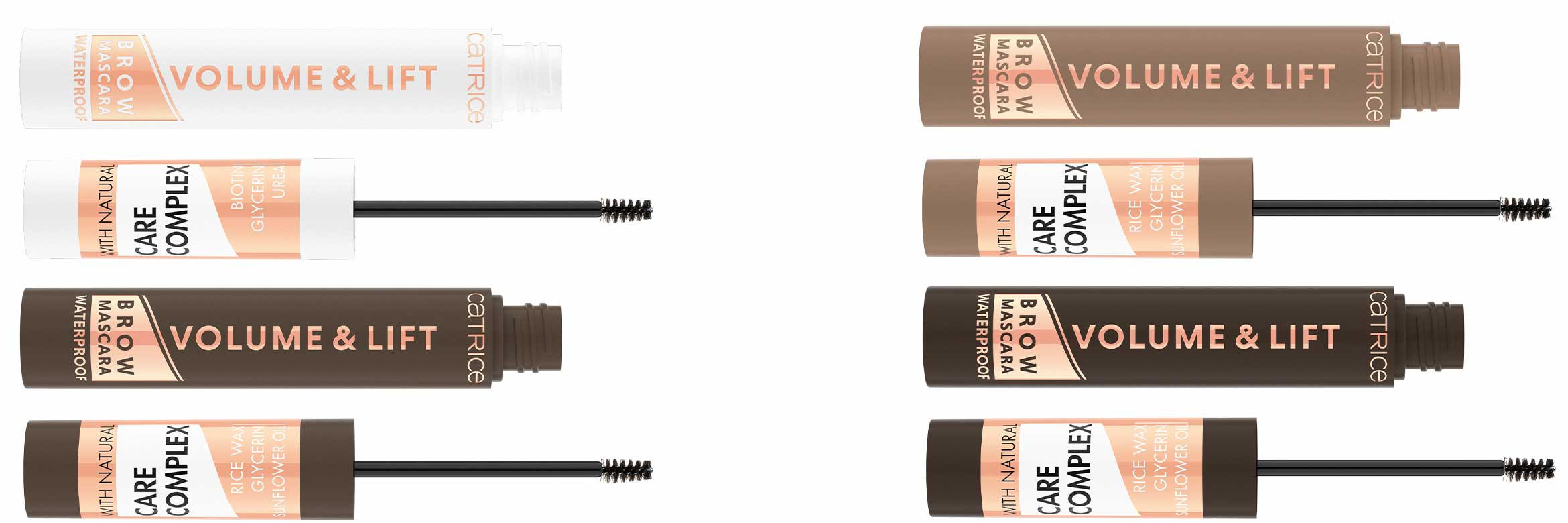 catrice volume & lift brow mascara waterproof