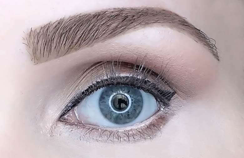 l'oreal bambi oversized eye mascara review look
