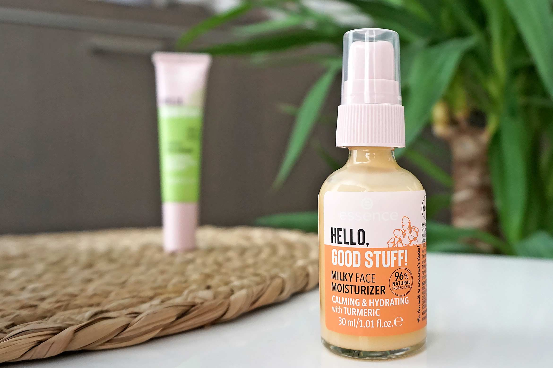 essence hello good stuff milky face moisturizer review