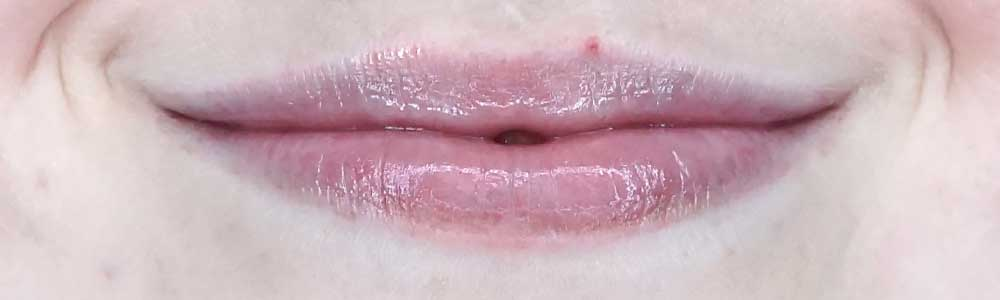 essence lip care booster lip butter swatch review