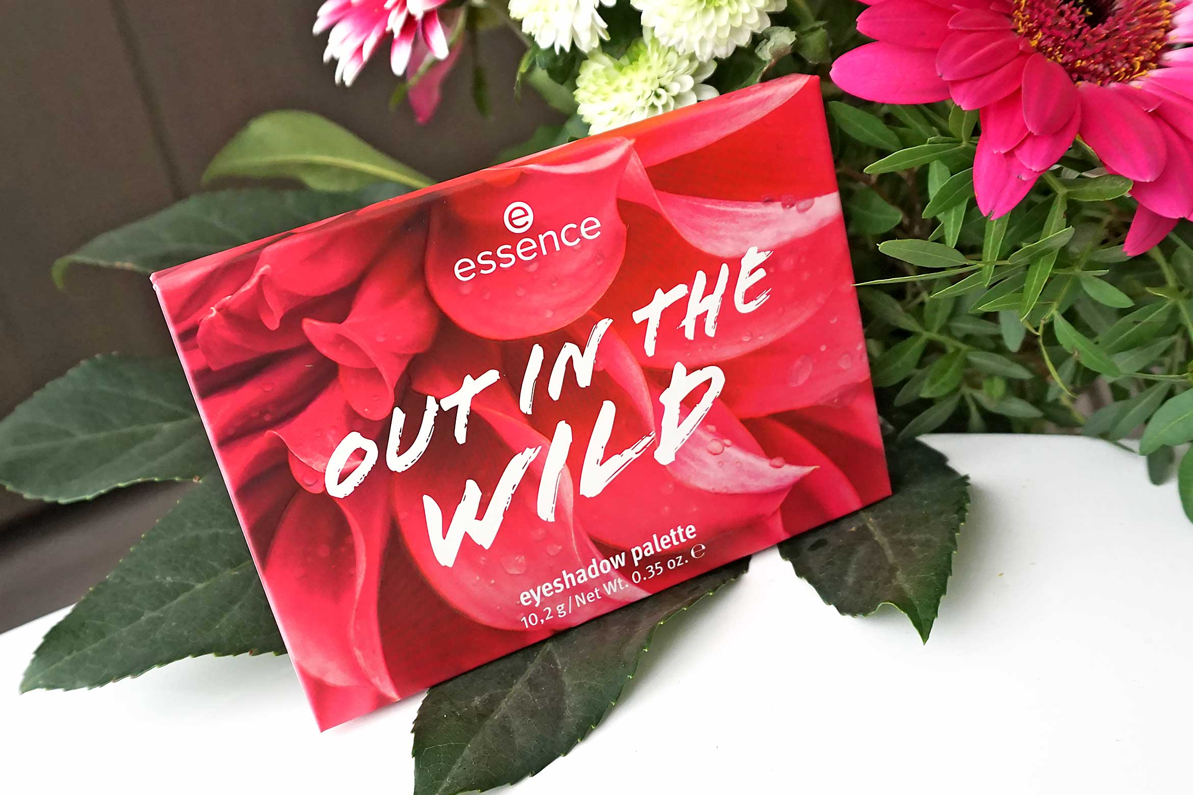 essence out in the wild eyeshadow palette review