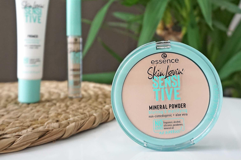 essence skin lovin sensitive mineral powder review