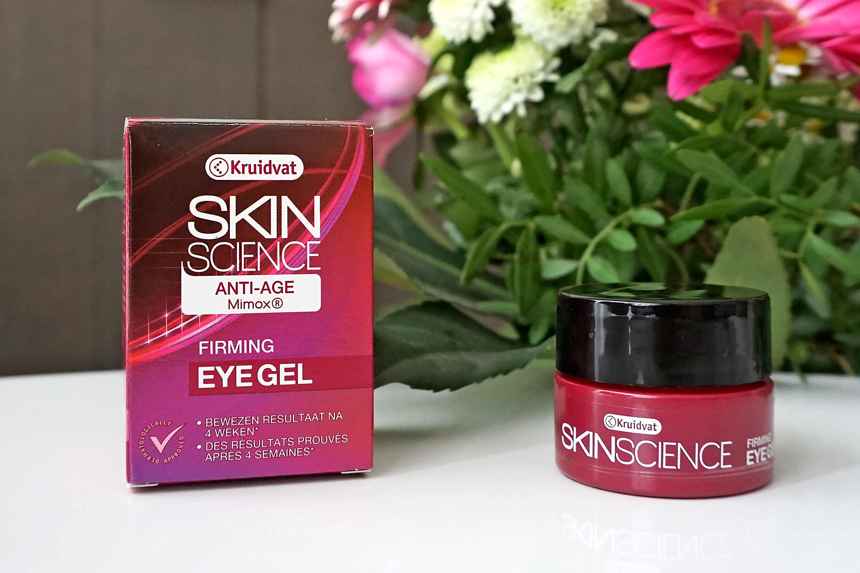 kruidvat skin science anti-age firming eye gel review