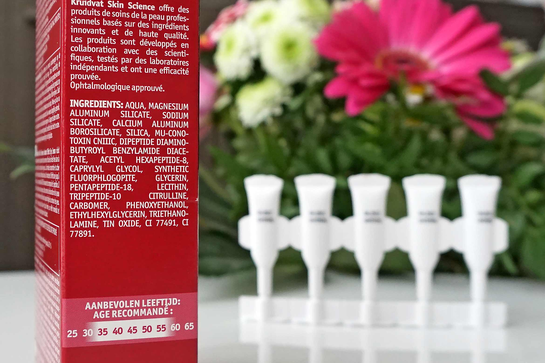 kruidvat skin science instant effect eye serum review