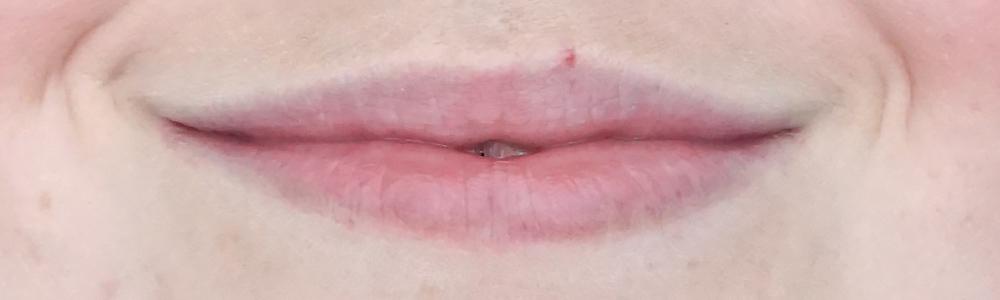 lottie london x laila loves lip balm pH reactive review before after