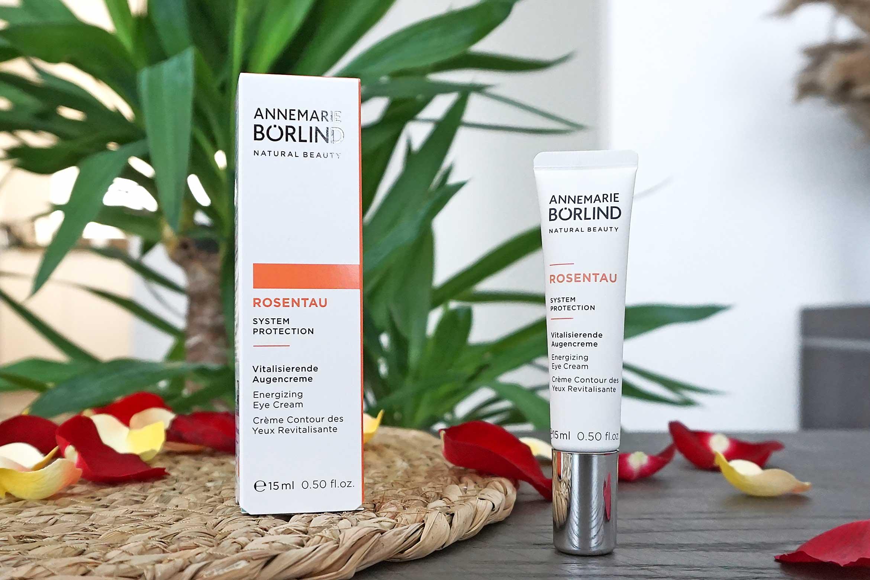 annemarie borlind rosentau energizing eye cream review