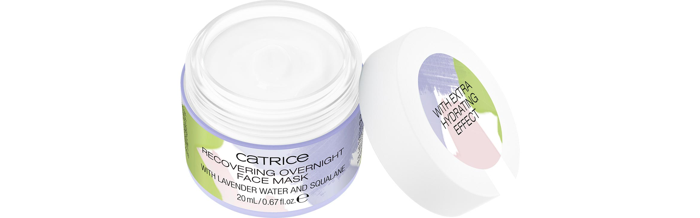 catrice recovering overnight face mask