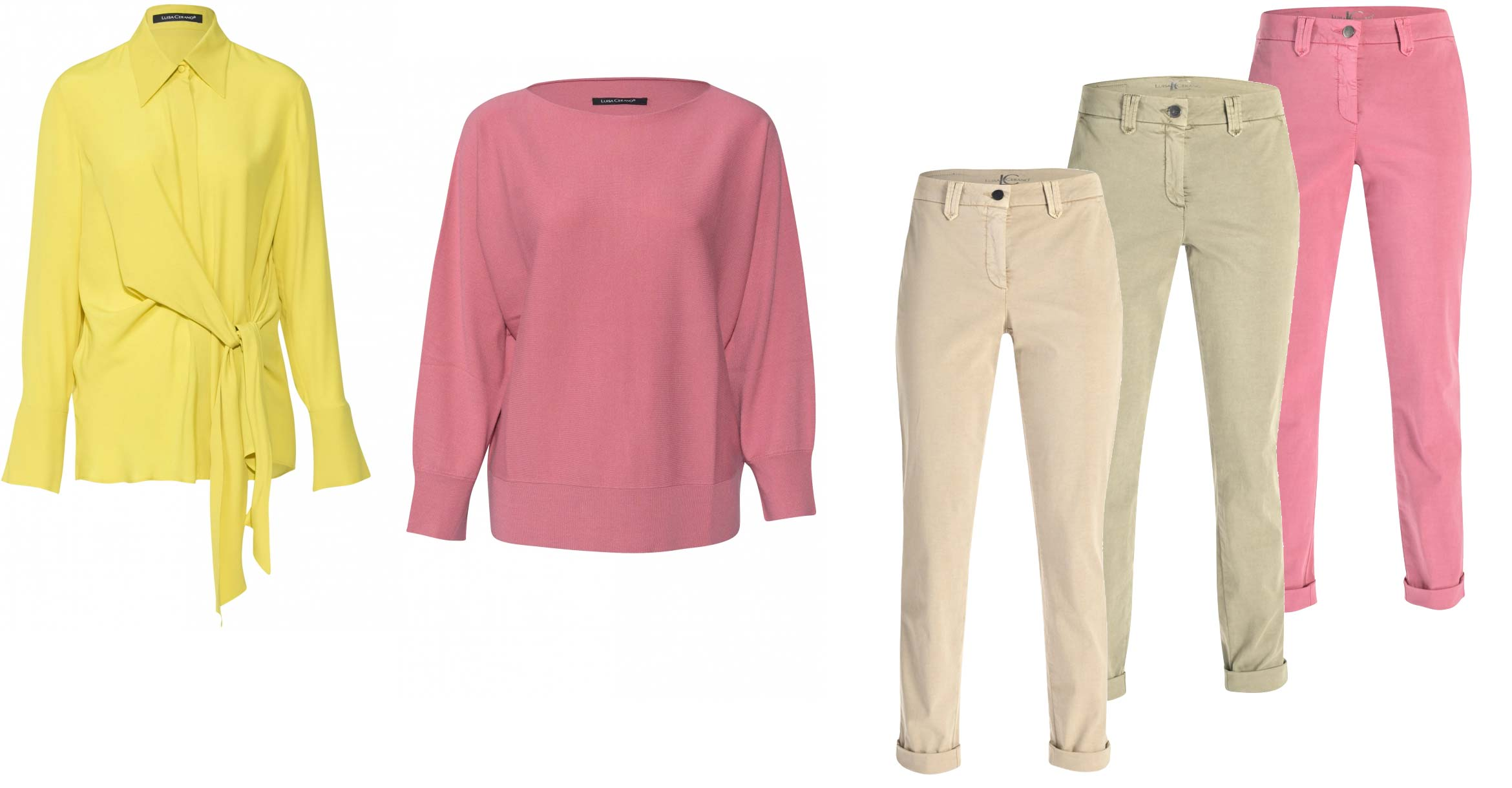 luisa cerano mix and match outfit voorjaar