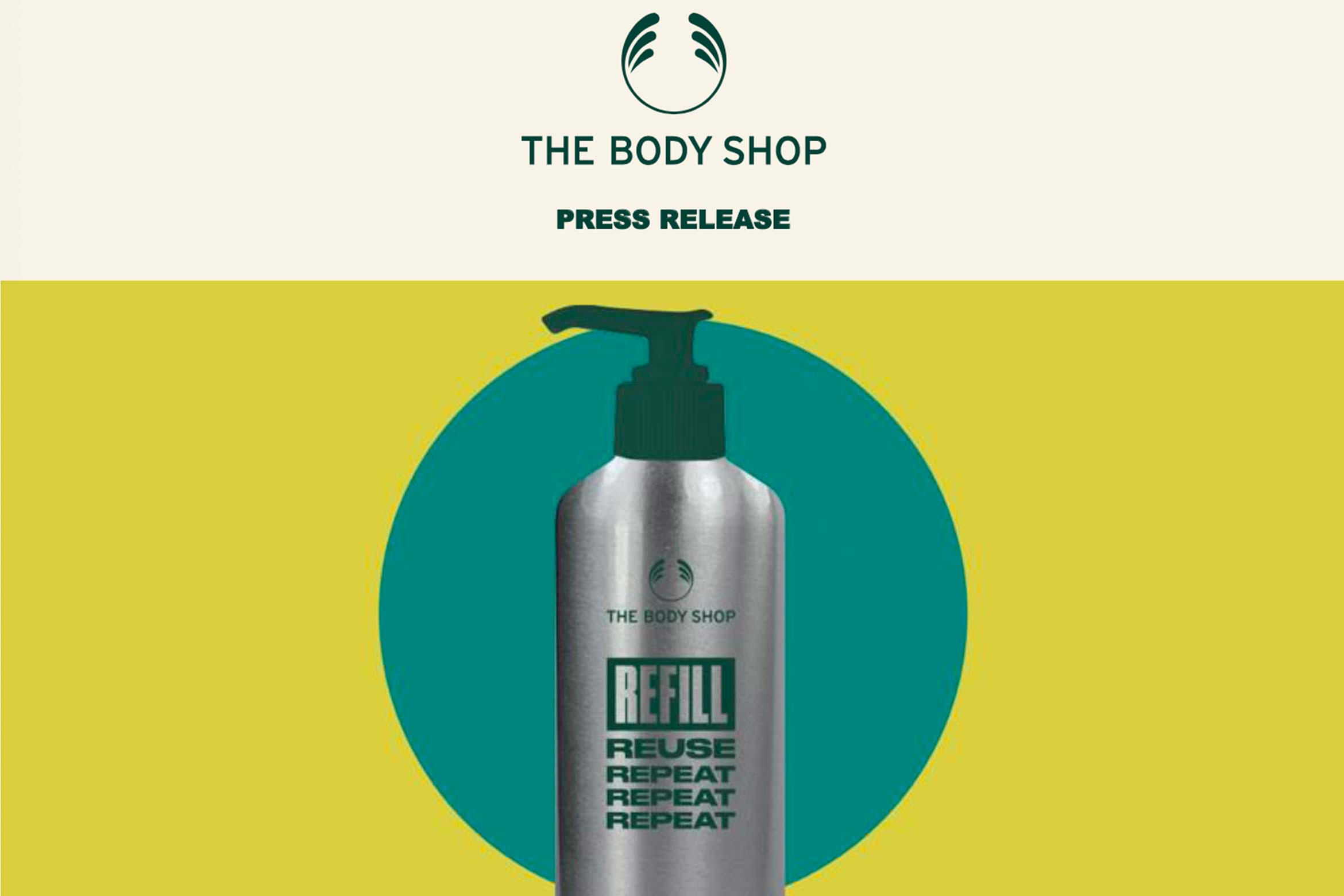the body shop refill stations