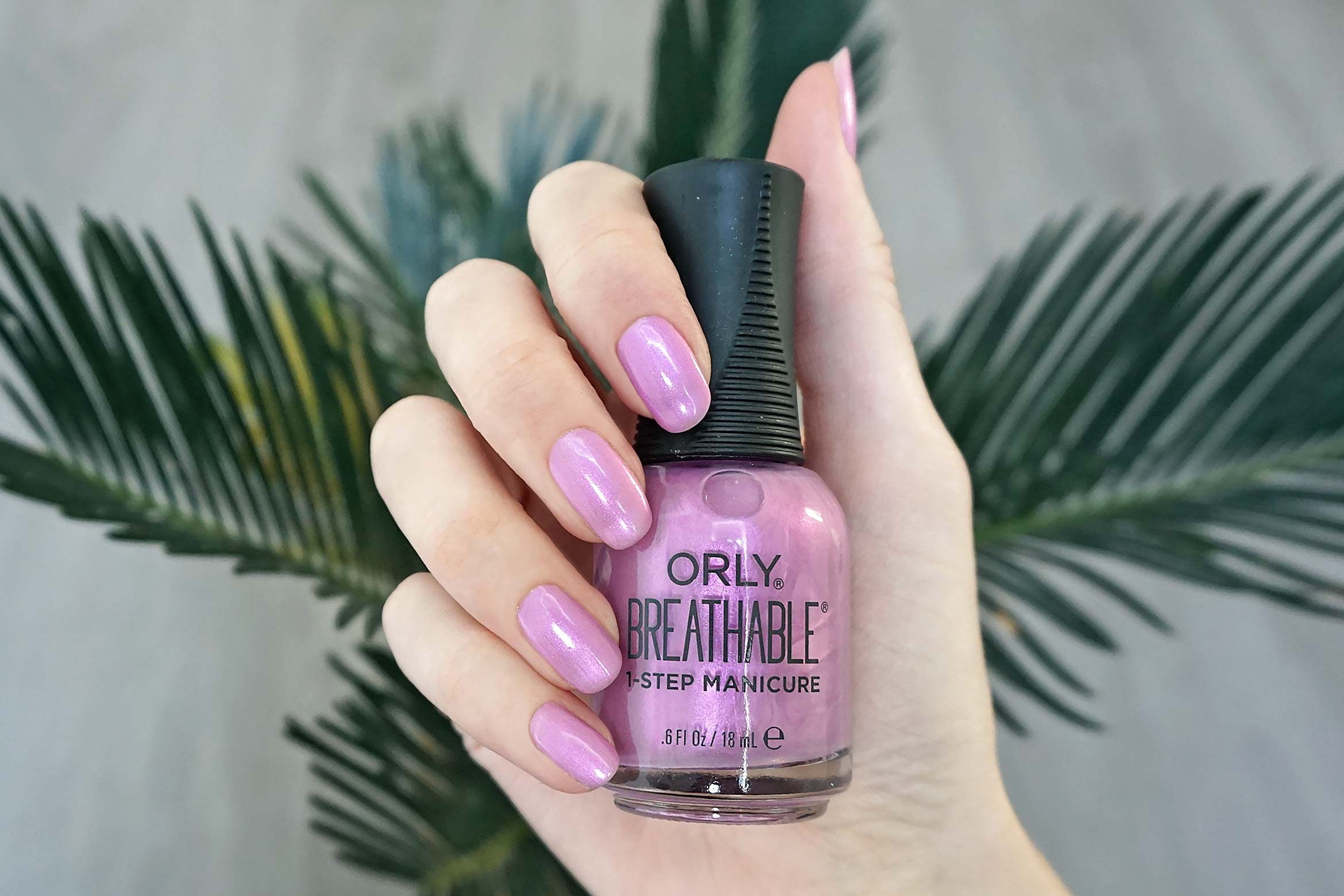 nagellak orly breathable orchid you not swatch