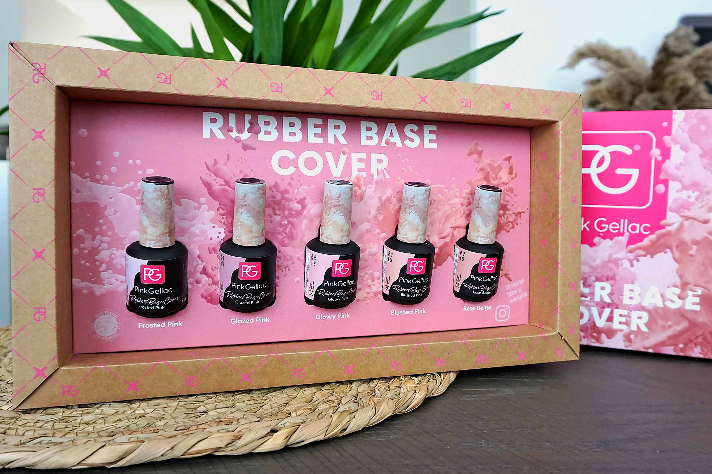 pink gellac rubber base cover collection review