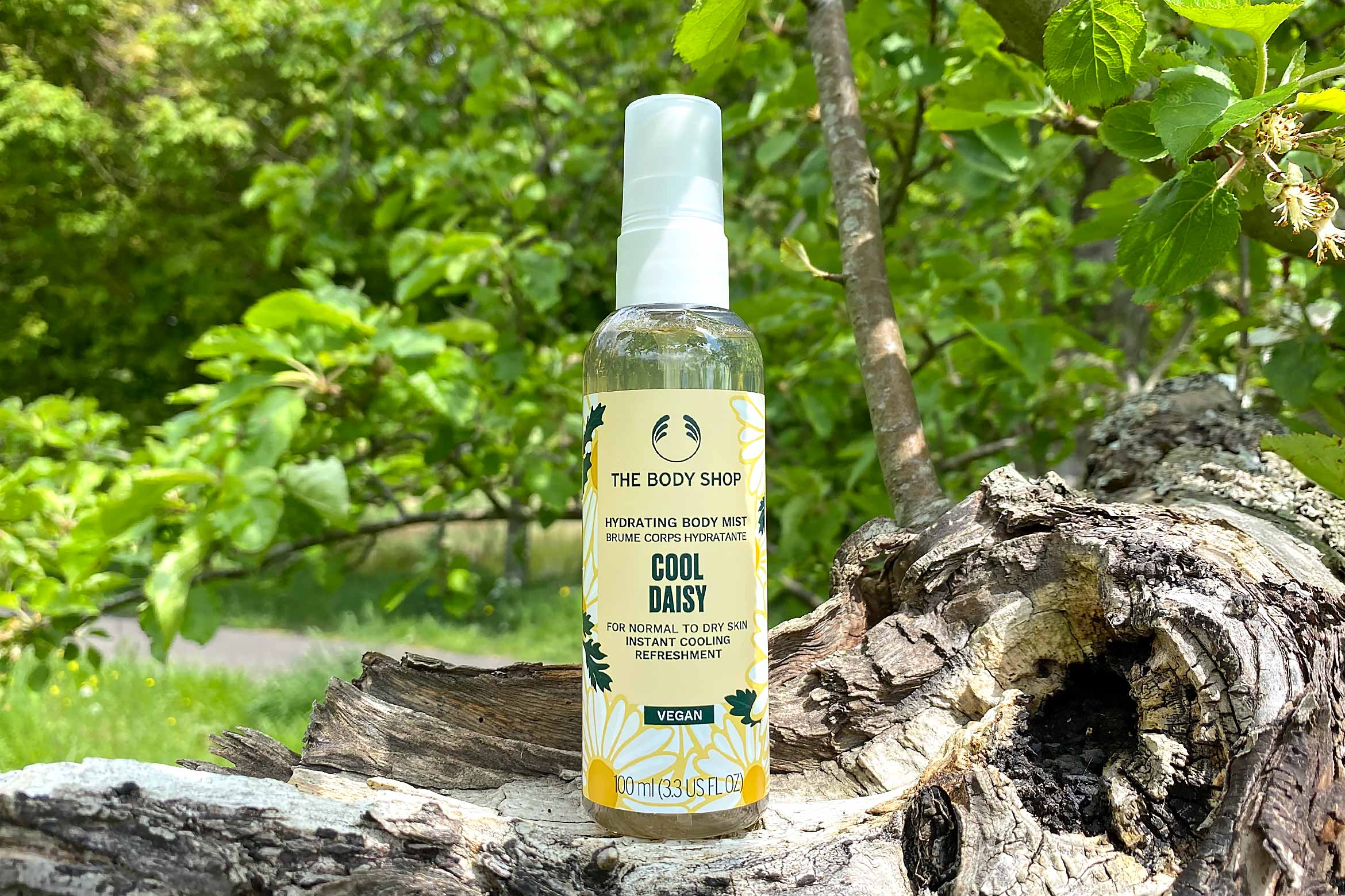 the body shop cool daisy body mist review