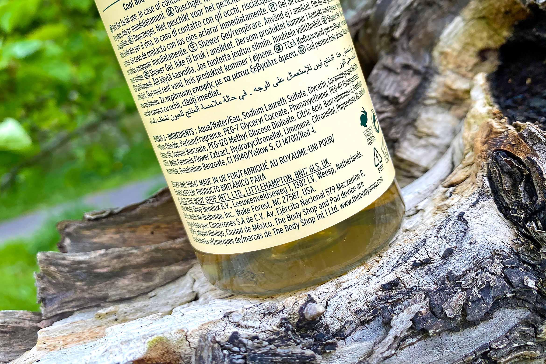 the body shop cool daisy shower gel ingredienten review