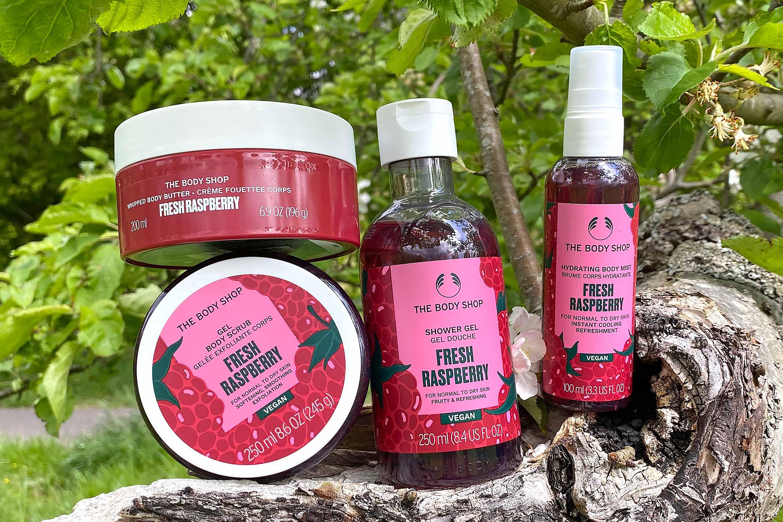 the body shop fresh raspberry review