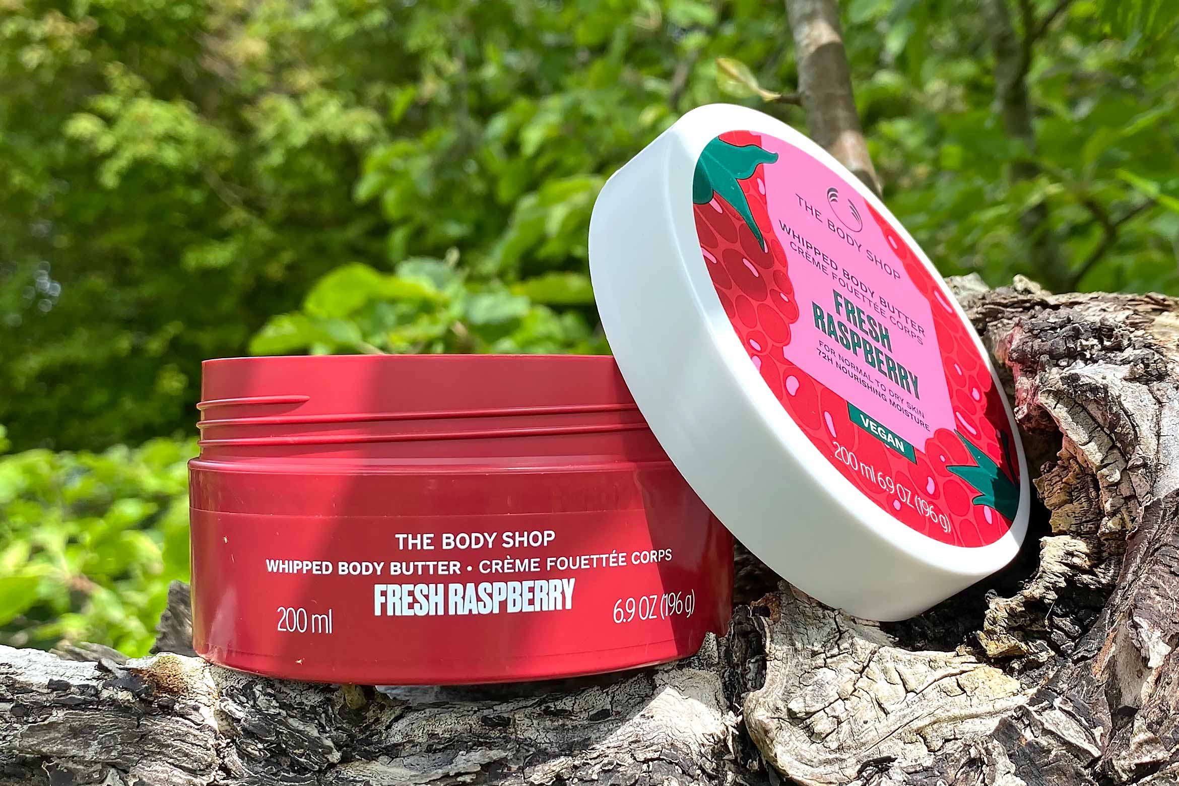 the body shop fresh raspberry whipped body butter review