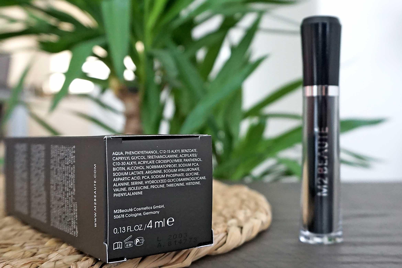 M2 beaute eyelash activating serum ingredienten review