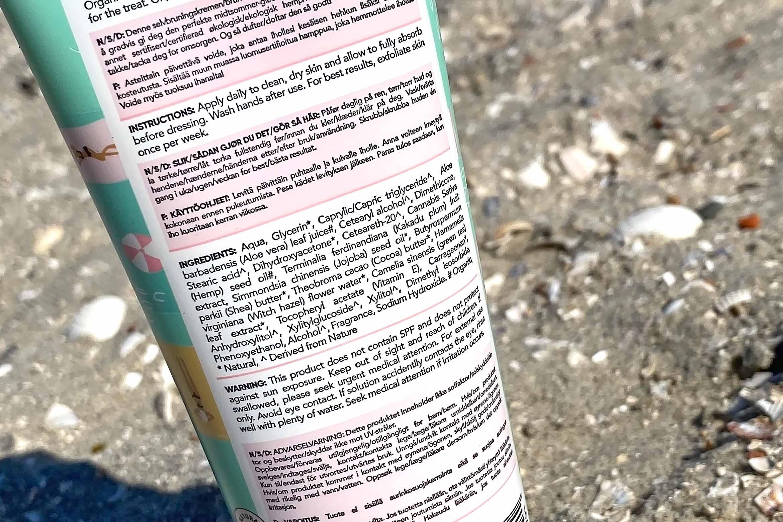 australian glow gradual tanning lotion review ingredienten