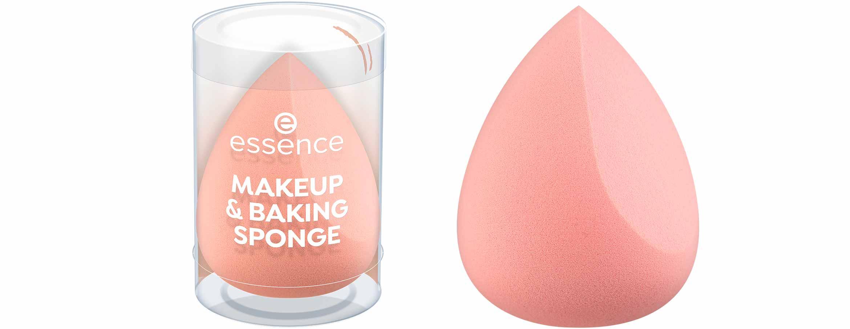 essence vintage beach makeup & baking sponge