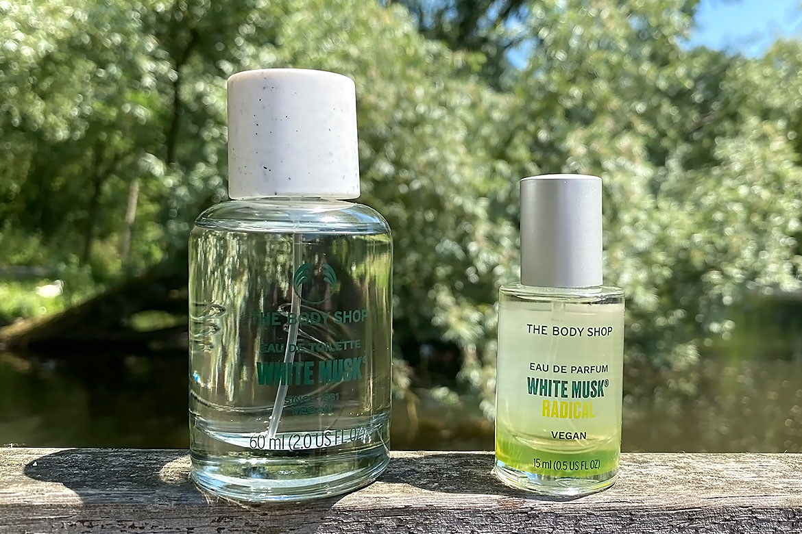 the body shop white musk elements radical review