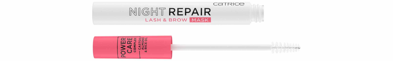 catrice night repair lash & brow mask
