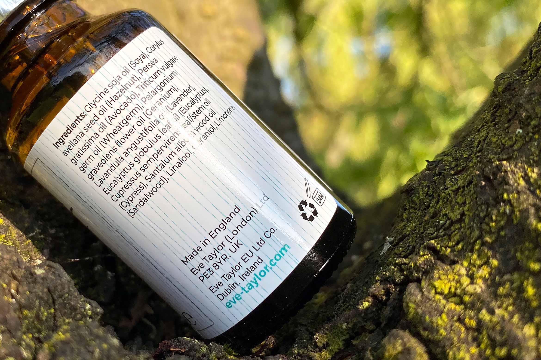 Eve Taylor soothing aromatic serum no 1 ingredienten review
