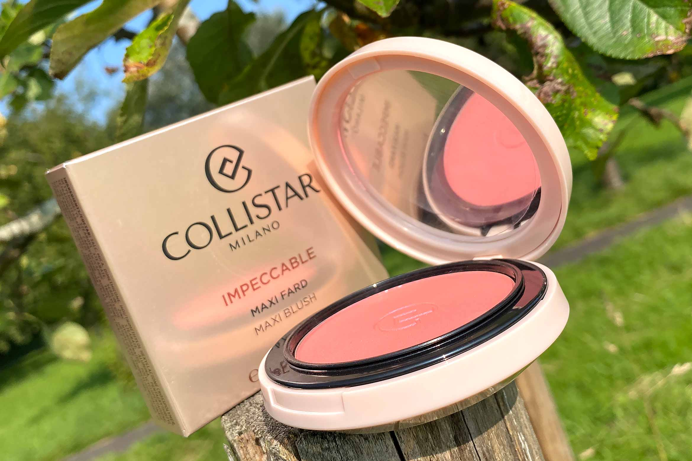 collistar impeccable maxi blush review