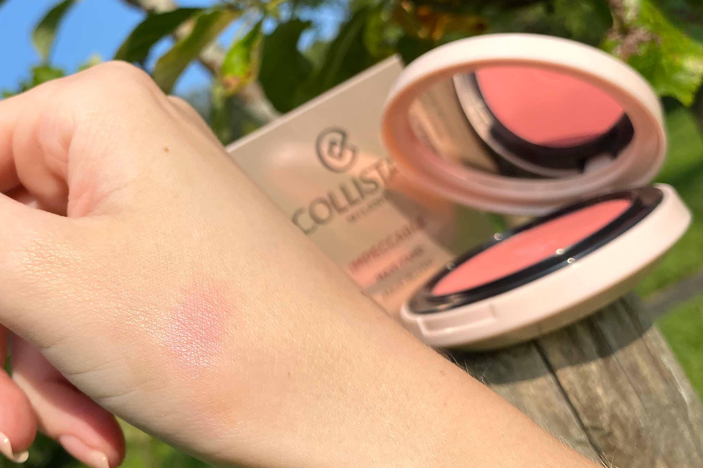 collistar impeccable maxi blush swatch 04 confetto