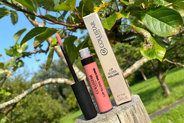 collistar lip gloss volume review