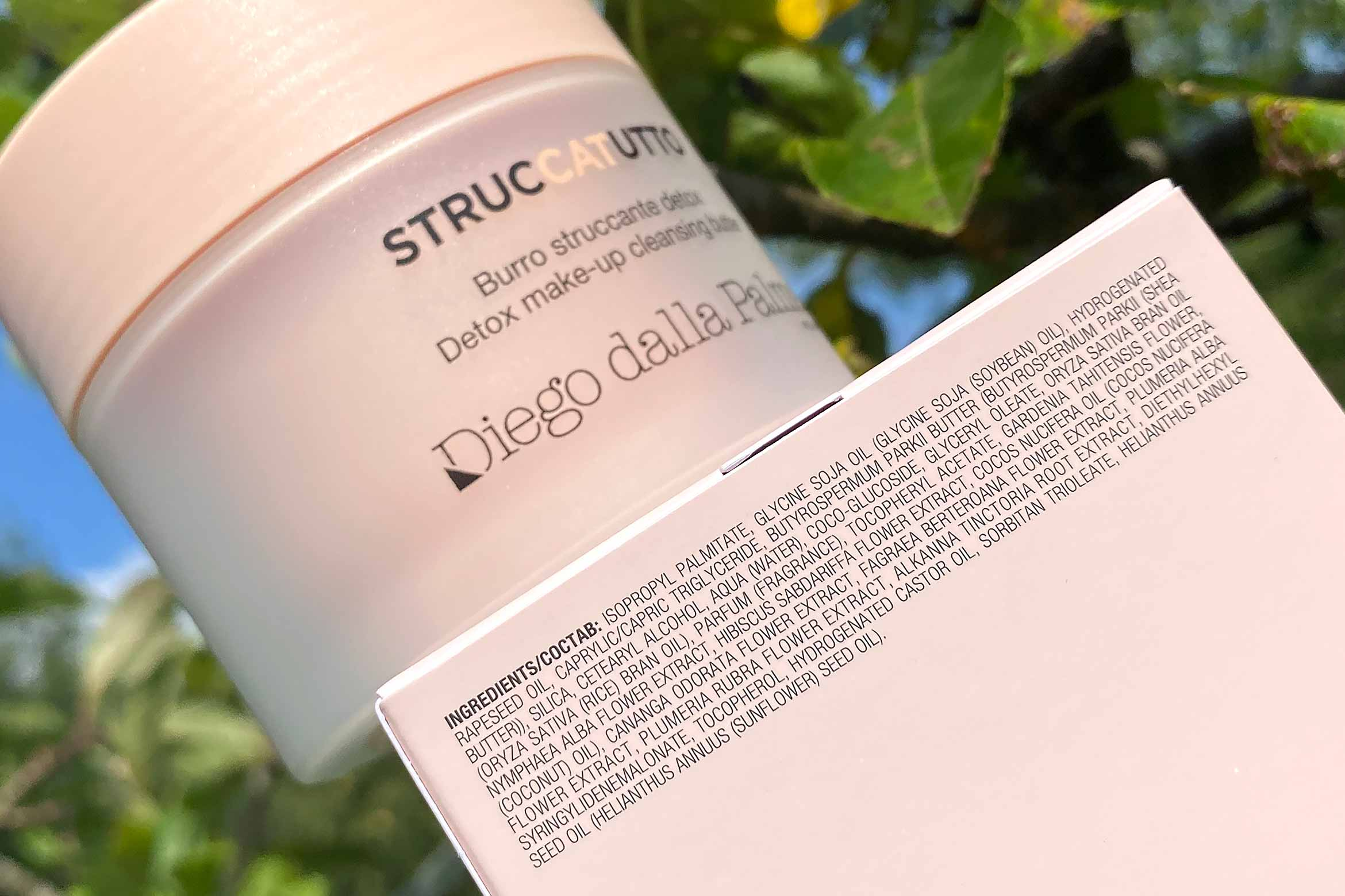 diego dalla palma struccatutto detox make-up cleansing butter ingredienten review