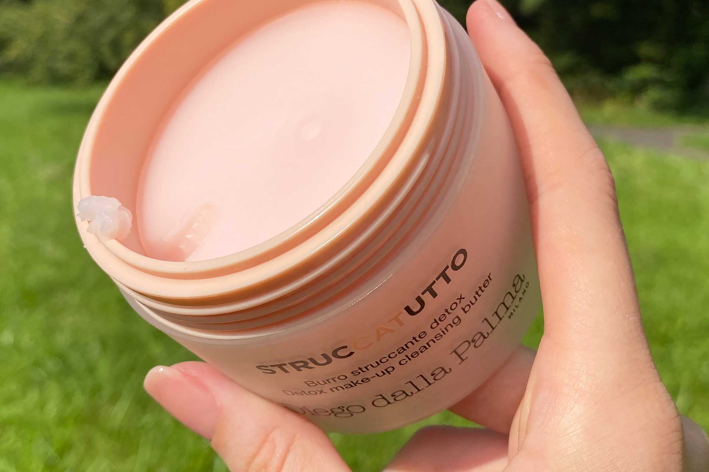 diego dalla palma struccatutto detox make-up cleansing butter textuur review