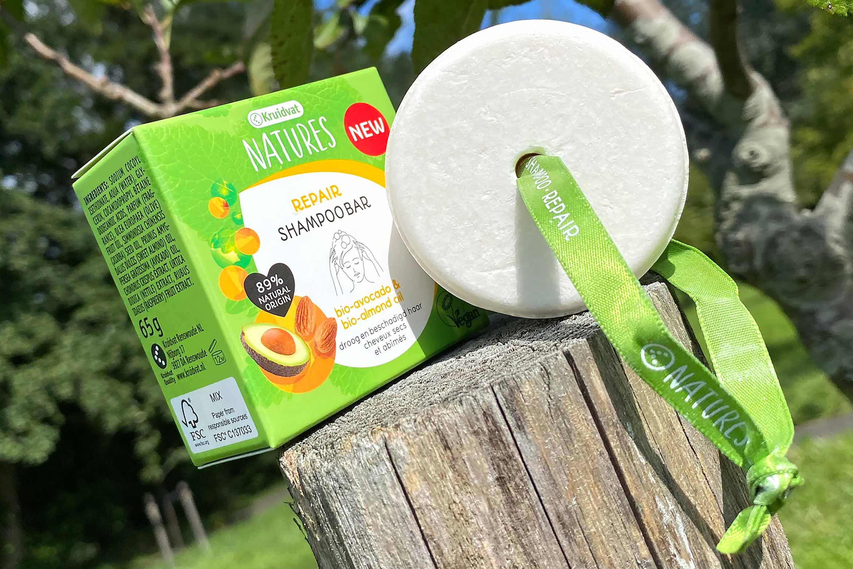 kruidvat natures repair shampoo bar review