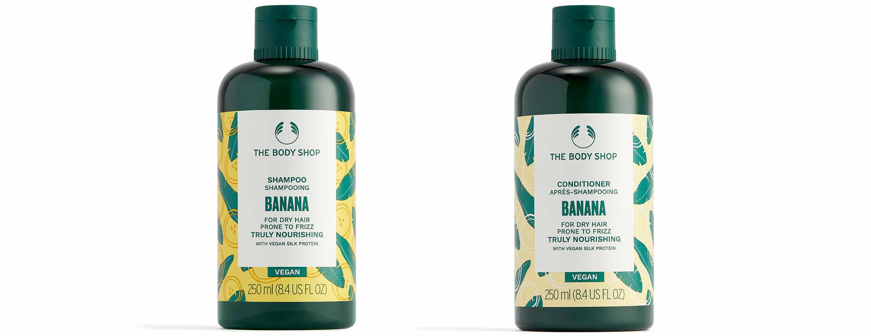 the body shop banana truly nourishing