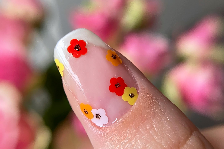 Maniko Pippypolish I Am Blooming swatch