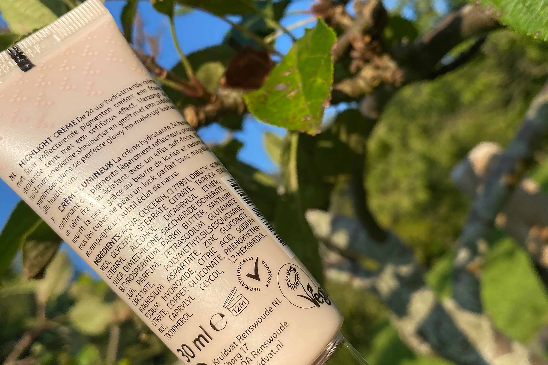 kruidvat beauty flash illuminating strobing cream ingredienten review