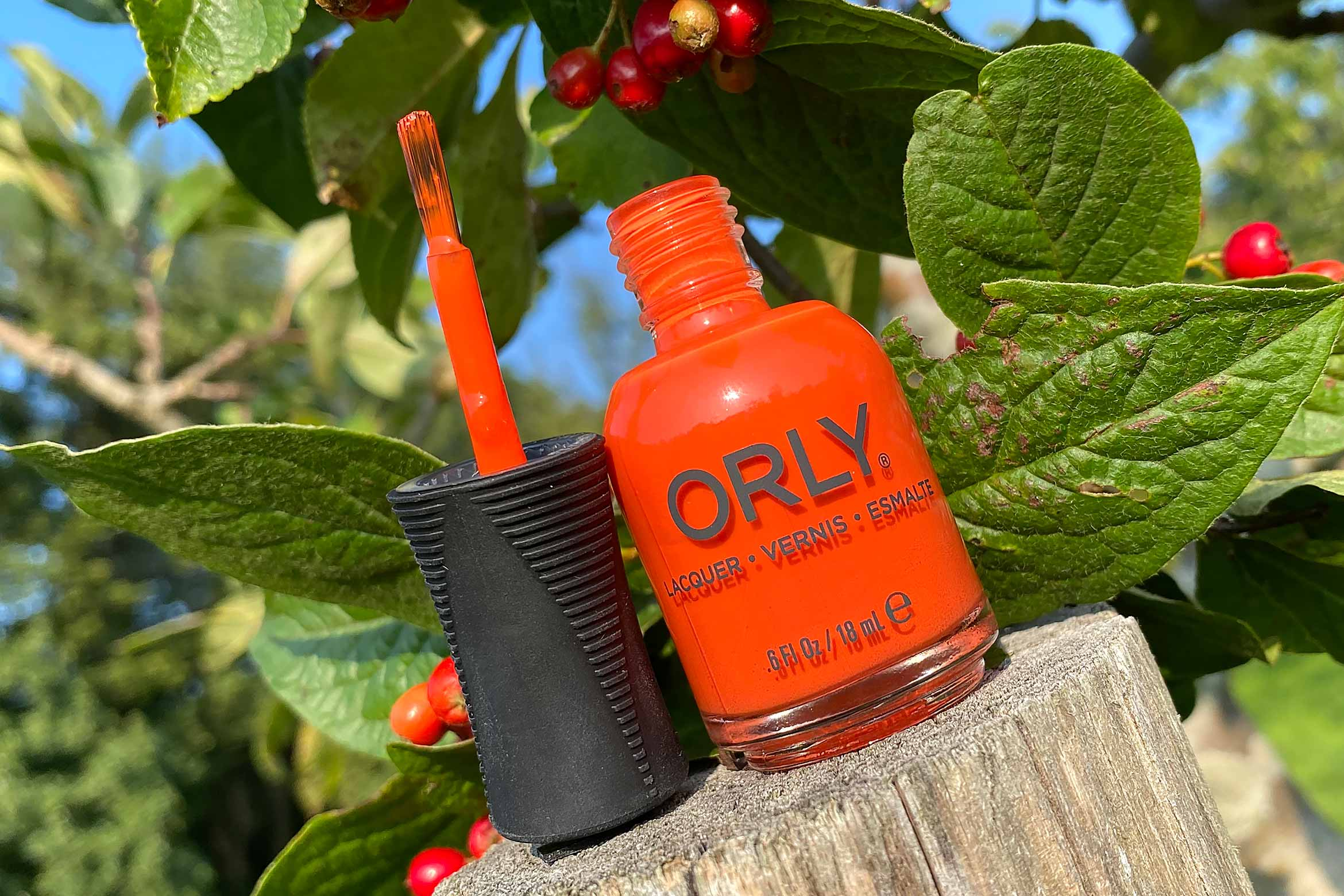 orly bird of paradise swatch wild natures herfst collectie