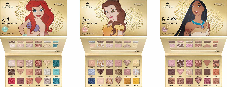 catrice disney princess eyeshadow palette ariel belle pocahontas