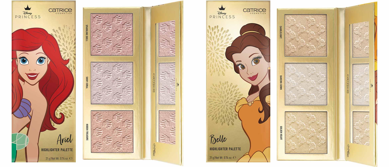 catrice disney princess highlighter palette