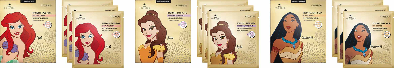 catrice disney princess hydrogel face mask ariel belle pocahontas