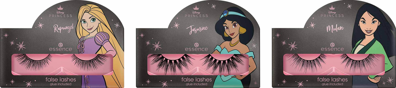 essence disney princess false lashes rapunzel jasmine mulan