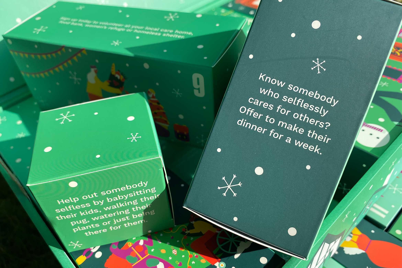 the body shop share love joy ultimate adventskalender inhoud unboxing verhaal story